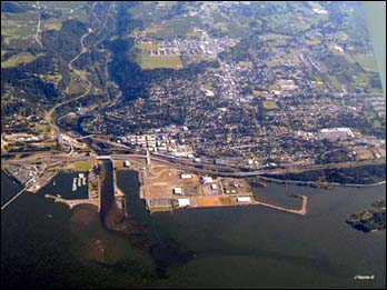 Aerial Image of Port Area